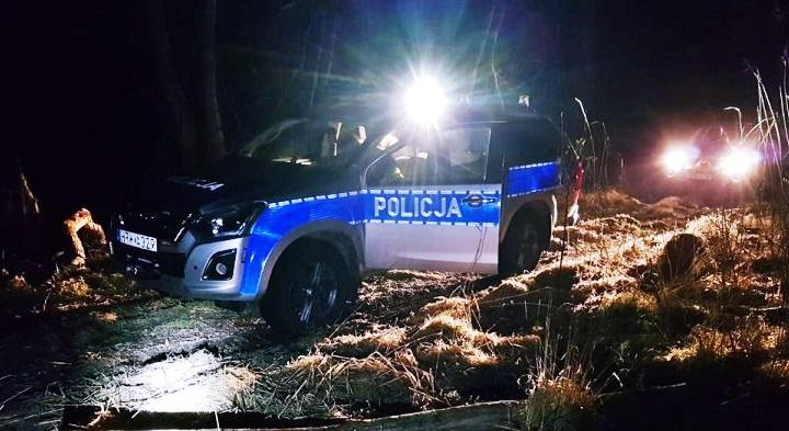policja bagno