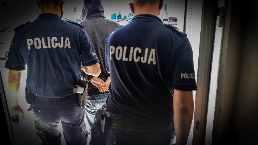 policja, kajdanki