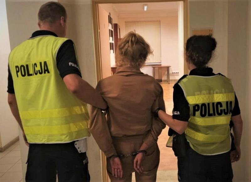 policja kobieta